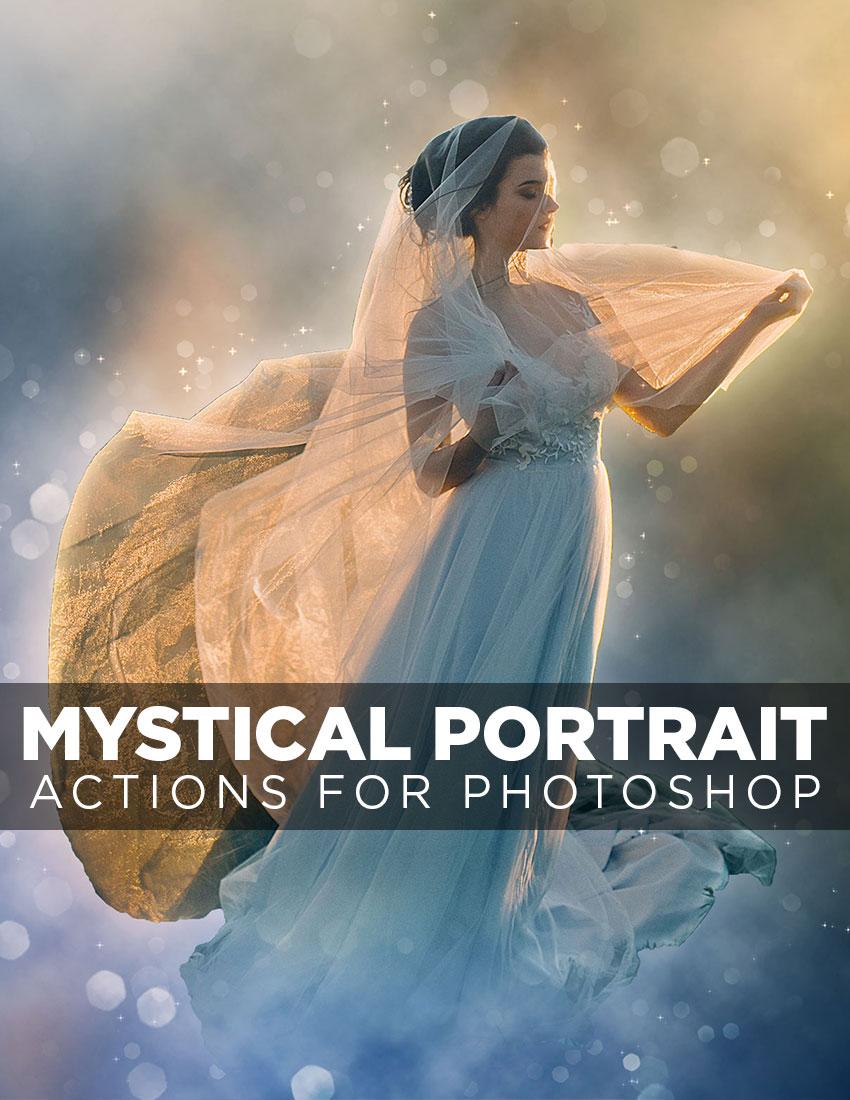 Mystical Portrait Action for Photoshop